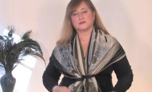 Jak fajnie nosić szal