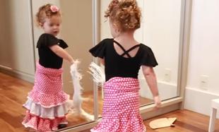 Gigi tańczy flamenco
