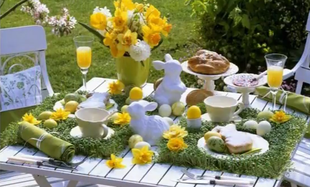 Jak udekorować stół na Wielkanoc?