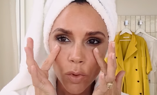Victoria Beckham pokazuje, jak w 5 minut zrobić makijaż