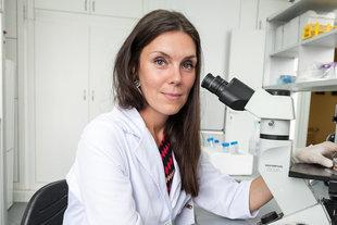 Kobieta, która walczy z nowotworami