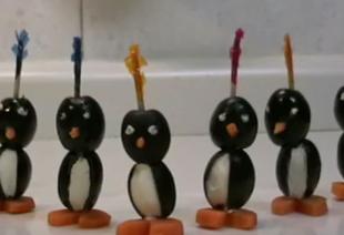 Pingwiny z oliwek - zaskocz swoich gości!