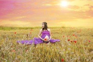 Jak przetrwać ciążę latem?