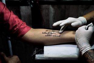 Tatuaże szkodliwe dla zdrowia?
