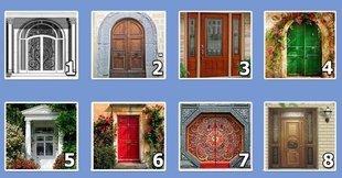 Test psychologiczny: Wybierz drzwi, przez które chcesz wejść, to drzwi do twojej duszy!