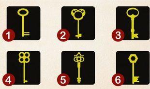 Test psychologiczny - wybierz klucz i otwórz zakamarki twojej duszy