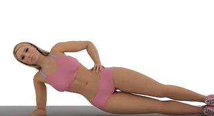 5 ćwiczeń, które sprawia, że twój brzuch będzie płaski
