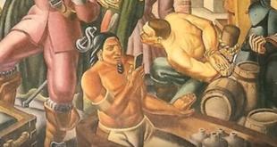 Fresk z 1937 roku przedstawia SMARTFON? Dowód na podróże w czasie?