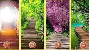 Test psychologiczny: Którą drogę wybierasz? Sprawdź, co to oznacza.
