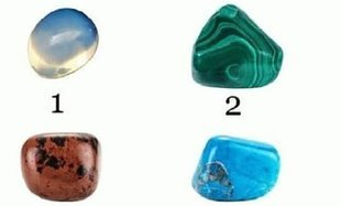 Test - wybierz swój kamień i sprawdź, co przyniesie przyszłość!