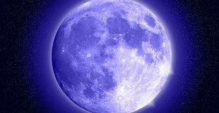 Pełnia Niebieskiego Księżyca - co cię czeka?