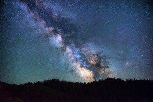 Bieszczady - gwieździste niebo atrakcją turystyczną gminy Lutowiska