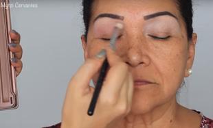 Wieczorowy makijaż dla dojrzałych kobiet