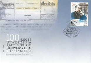 Znaczek Poczty Polskiej w 100 - lecie KUL
