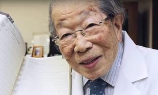 105 - letni japoński lekarz Shigeaki Hinohara zdradził przed śmiercią sekret długowieczności