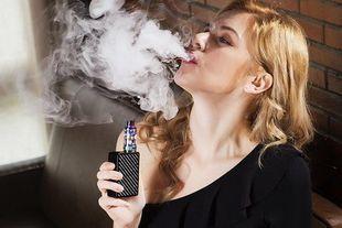 E - papierosy jednak mniej szkodliwe