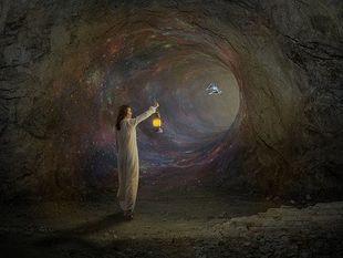 Tajemnicze duchy z jaskiń