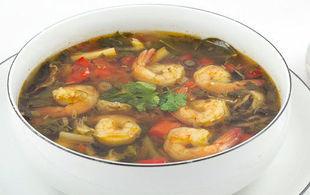 TOM YUM GOONG - tajska zupa z krewetkami