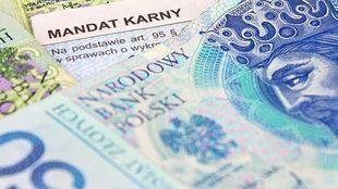 Połowa ukaranych nie płaci mandatów, budżet państwa traci miliony