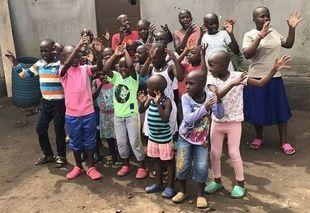Witajcie w Ugandzie - u Masiki w sierocińcu