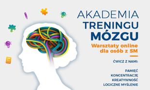 #zostańwdomu Zadbaj o swój mózg i trenuj sprawność poznawczą. Startuje internetowa Akademia Treningu Mózgu dla osób z SM