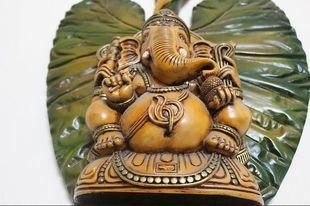 Ganeśa - hinduski bóg, który przynosi szczęście. Trzeba jednak wiedzieć, jak ustawić jego figurkę