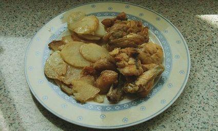 Kurczak w czosnku - w Hiszpanii popularny, jak nasz schabowy
