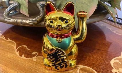 Maneki - neko, kot który gwarantuje szczęście i dobrobyt