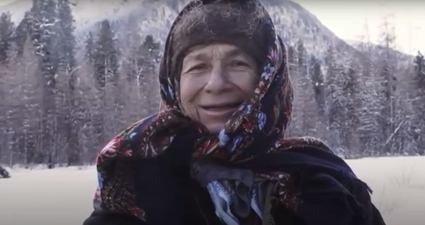 Syberia: najbardziej samotna kobieta na świecie otrzymała niesamowity prezent od rosyjskiego milionera