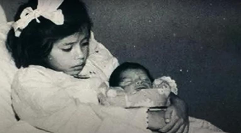 Najmłodsza matka świata - screen youtube