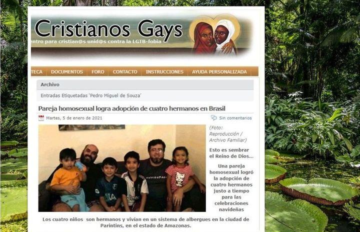 Małżeństwo gejów z Brazylii zaadoptowało czwórkę porzuconego rodzeństwa
