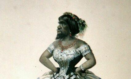 Tragiczne życie kobiety z brodą -  jej mąż sprzedawał bilety nawet na jej poród