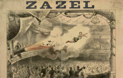 Zazel - pierwsza żywa kula armatnia