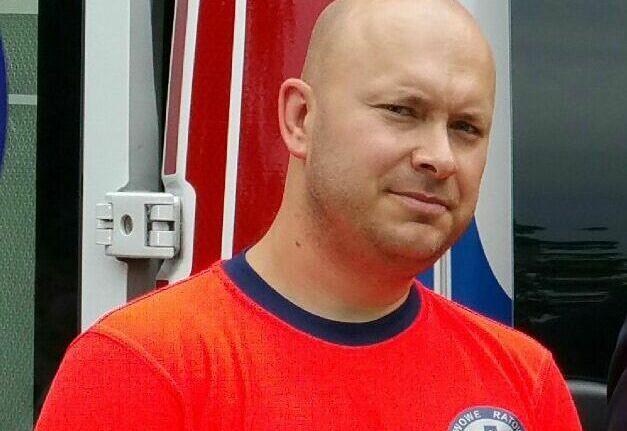 Polan Ran- Rokicki, ratownik medyczny