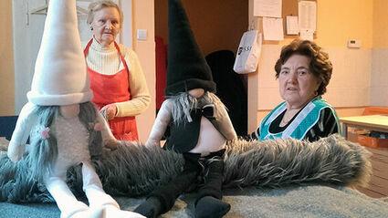 Niezwykły skrzat Helpik - przynosi szczęście każdemu domowi i pomaga seniorom