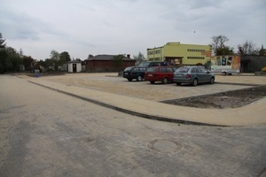 Parking przy ul. Wiatracznej