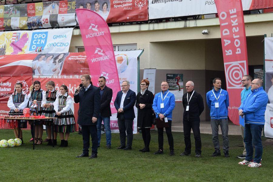 Wielkie piłkarskie święto Olimpiad Specjalnych w Opocznie i Spale