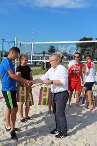 Wakacyjny Turniej Siatkówki Plażowej Mikstów o Puchar Burmistrza Opoczna