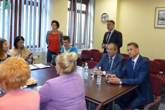 Wizyta delegacji mołdawskich medyków w SP ZOZ Puławy