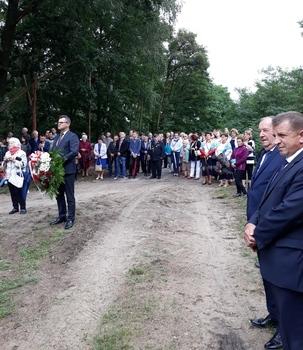 Uroczystości w Bałtowie
