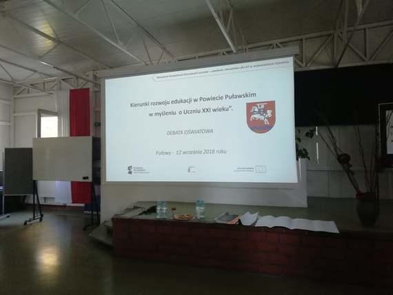 """Spotkanie Dialogowe poświęcone """"Kierunkom rozwoju edukacji w  Powiecie Puławskim"""""""
