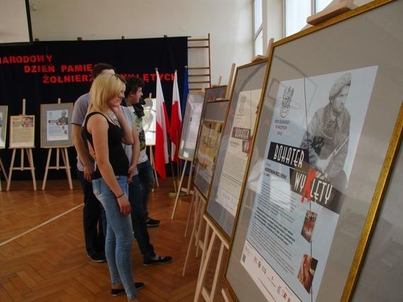 Narodowy Dzień Pamięci Żołnierzy Wyklętych w ZSZ Nr 1 w Rykach