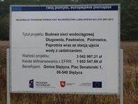 Budowa sieci wodociągowej w miejscowości Długowola, Pawłowice, Piotrowice, Paprotnia