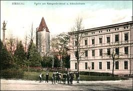 Wieża Dziobowa, przed 1945 r.