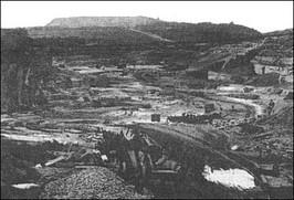 Kamieniołom Bartscha ok. 1900 r.