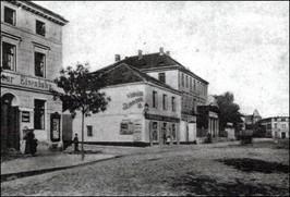 Al. Wojska Polskiego, 1900 r.