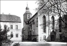Obecny kościół Zbawiciela, przed 1945 r.