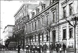 ul. Paderewskiego, 1914 r.