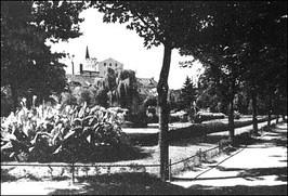 Promenada w południowej części miasta - lata 20-te XX w.