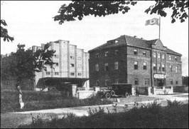 Fabryka przetwórstwa spożywczego - lata 30-te XX w.
